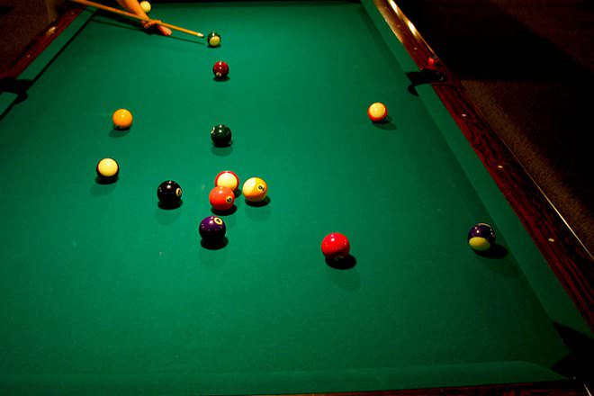 pool billiards