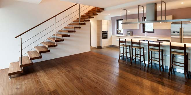 hardwood floor - Bamboo Laminate Flooring