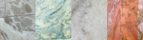 Examples of marble.