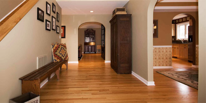 Hardwood Floor & Engineered Hardwood vs Solid Hardwood Flooring - Difference and ...