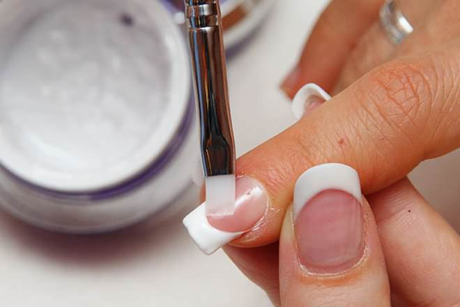 What do you need for gel acrylic nails
