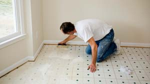 Linoleum Must Be Installed On Completely Dry And Repaired Surfaces Self Adhesive Tiles Are The Easiest Type To Install But They Perfectly Aligned