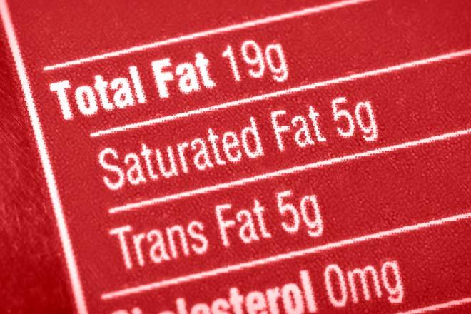 trans fat vs saturated fat № 80282