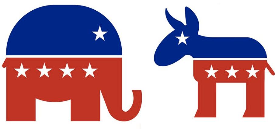 Image result for republicans vs democrats