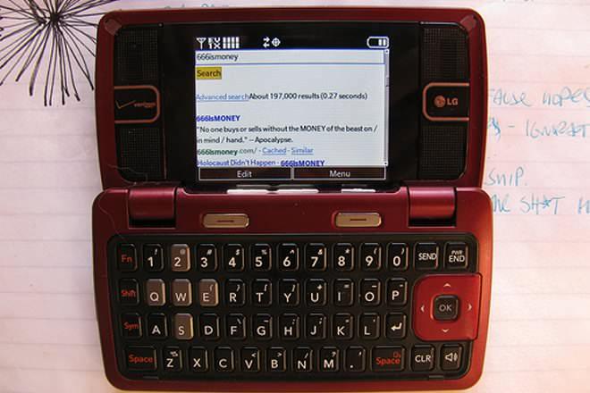 LG enV2 (VX-9100)