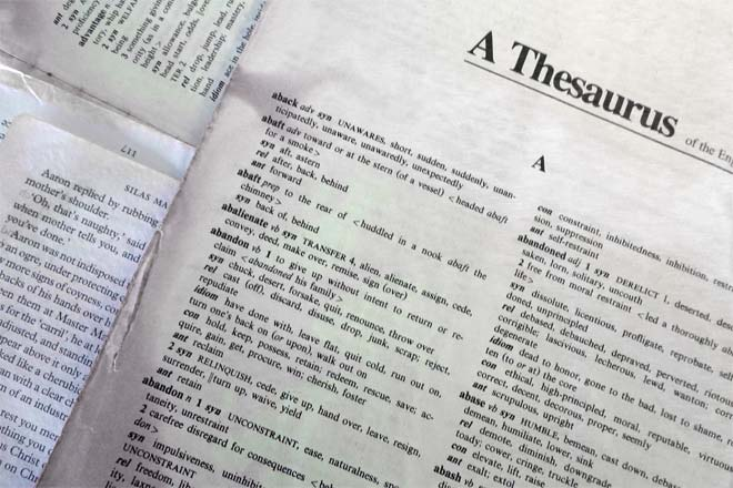 Dictionary vs thesaurus difference and comparison diffen for Cuisine thesaurus