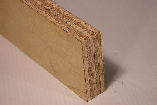 Lovely MDF. Plywood