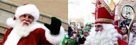 Santa Claus vs Sinterklaas