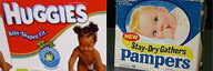 Pampers vs Huggies