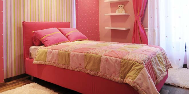 Lovely Twin Bed
