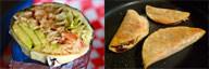 Burrito vs Taco