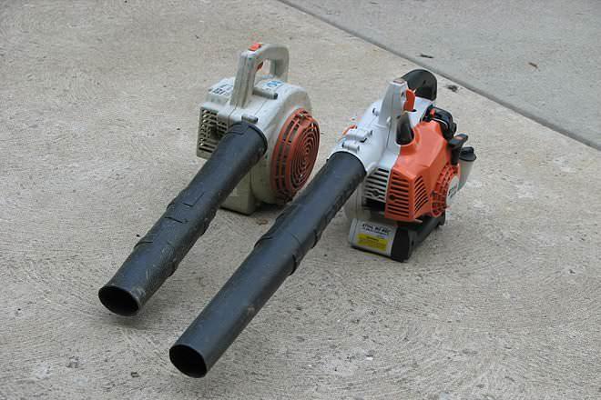Gas Leaf Blower