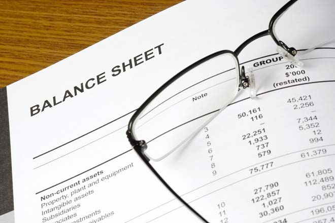 How do the income statement and balance sheet differ?