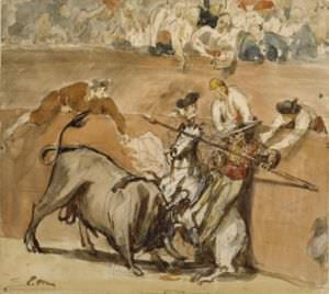 Bullfight by Édouard Manet.