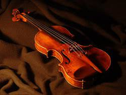 A violin by Carlo Antonio Testore.