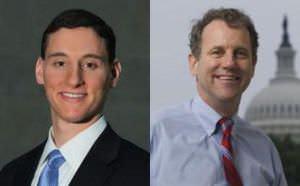 Josh Mandel (Republican) and Sherrod Brown (Democrat)