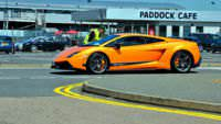 A Lamborghini Gallardo LP570-4 Superleggera