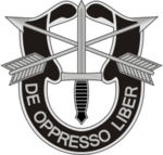 1st Special Forces Regiment insignia.