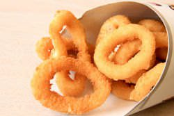 Onion rings from Burger King