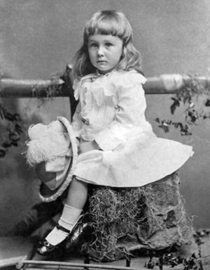 Many cultures, including American culture, have historically treated children as being somewhat or entirely genderless until puberty. The picture above is of American President Franklin D. Roosevelt, wearing a dress as a child — as was the norm at the time for American boys under the age of 6 or 7. Image from Smithsonian.