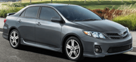 2013 Toyota Corolla S in Metallic Grey