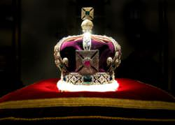 The Imperial State Crown is known to have 2,868 Diamonds