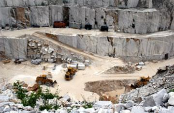 A marble quarry. Click to enlarge.