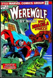 A Werewolf by Night comic by Marvel Comics