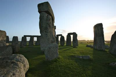 Stonehenge, an archaeological site in the UK from the Neolithic era.