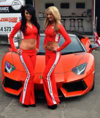 A Lamborghini Aventador LP 700-4