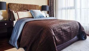 An example of a designer comforter.