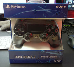 The brand new PS4 controller