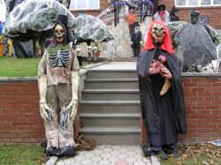 Disfraces tétricos de Halloween.