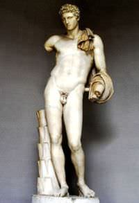 The Greek God Hermes (Mercury to the Romans)