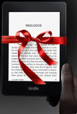 The Kindle Paperwhite makes a good gift for serious readers.