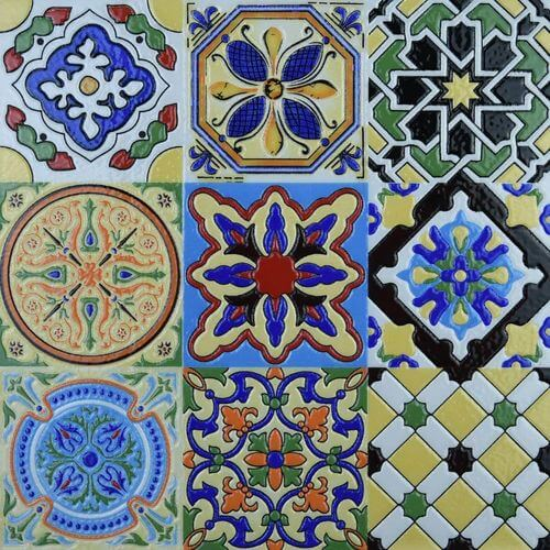 See Art3d's glossy, hand-painted Talavera Mexican ceramic tiles.