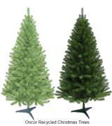 artificial christmas tree real christmas tree