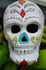 Day of the dead vs halloween difference and comparison diffen day of the dead halloween ccuart Image collections