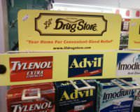 Tylenol and Advil are the most popular brand names for acetaminophen and ibuprofen respectively.