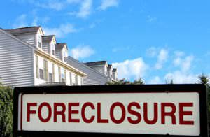 A Foreclosure sign in Haymarket VA