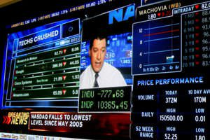 The Stock Market Free Fall of 2008