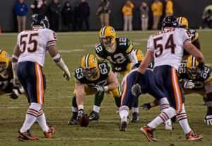 Bears vs. Packers at Lambeau Field on December 25, 2011