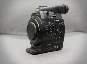 A Canon EOS C300
