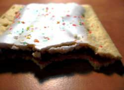 Strawberry Pop Tart with filling