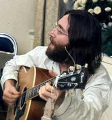John Lennon in Montreal, Canada,1969