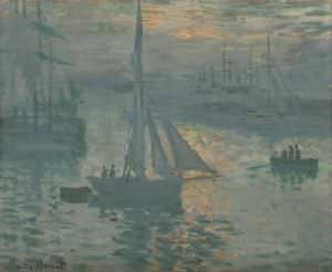 Sunrise (Marine) by Claude Monet.