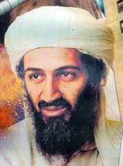 al-Qaeda founder and terrorist Osama Bin Laden.