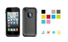 Front and back view of LifeProof Fre for iPhone 5 from the LifeProof website