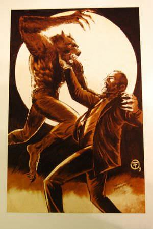 Vampire (R) vs Werewolf (L)