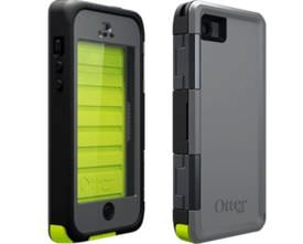 Front and back view of Otterbox Armor for iPhone 5